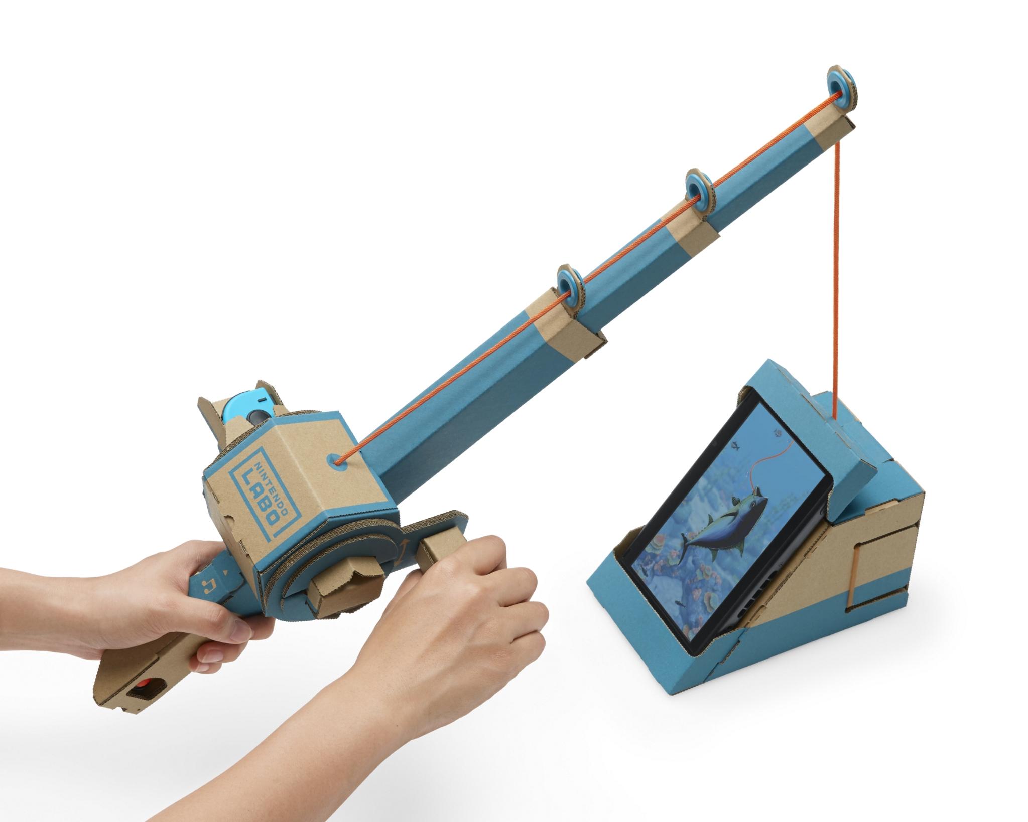 Nintendo Labo: tecnologia de cartão   Unibanco