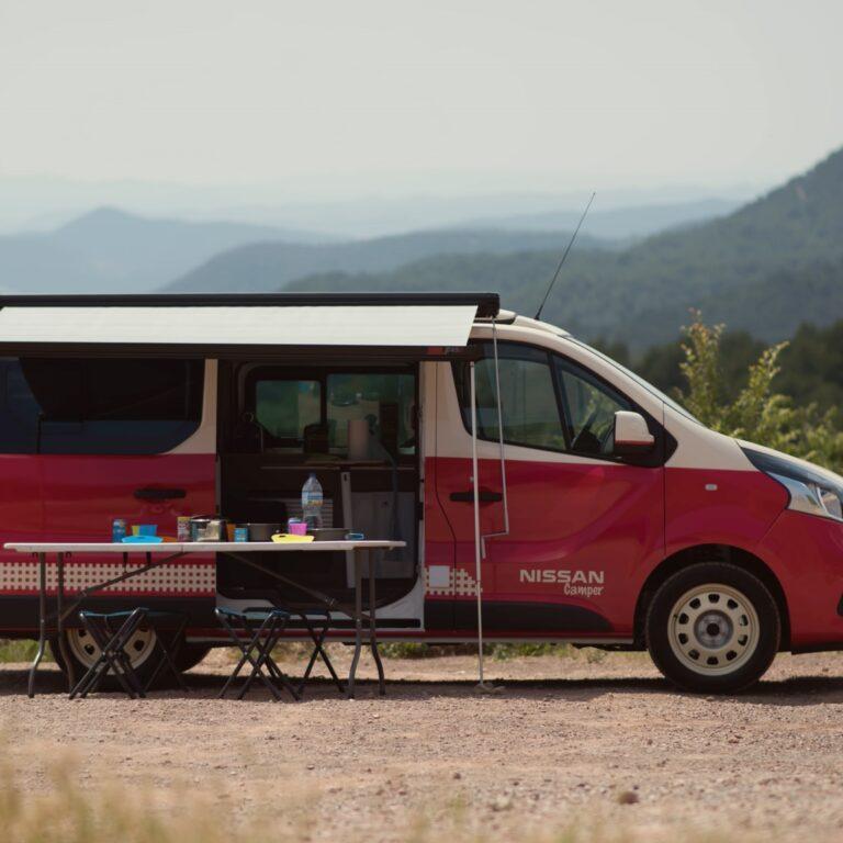 Nissan Camper: campismo sim, emissões não | Unibanco