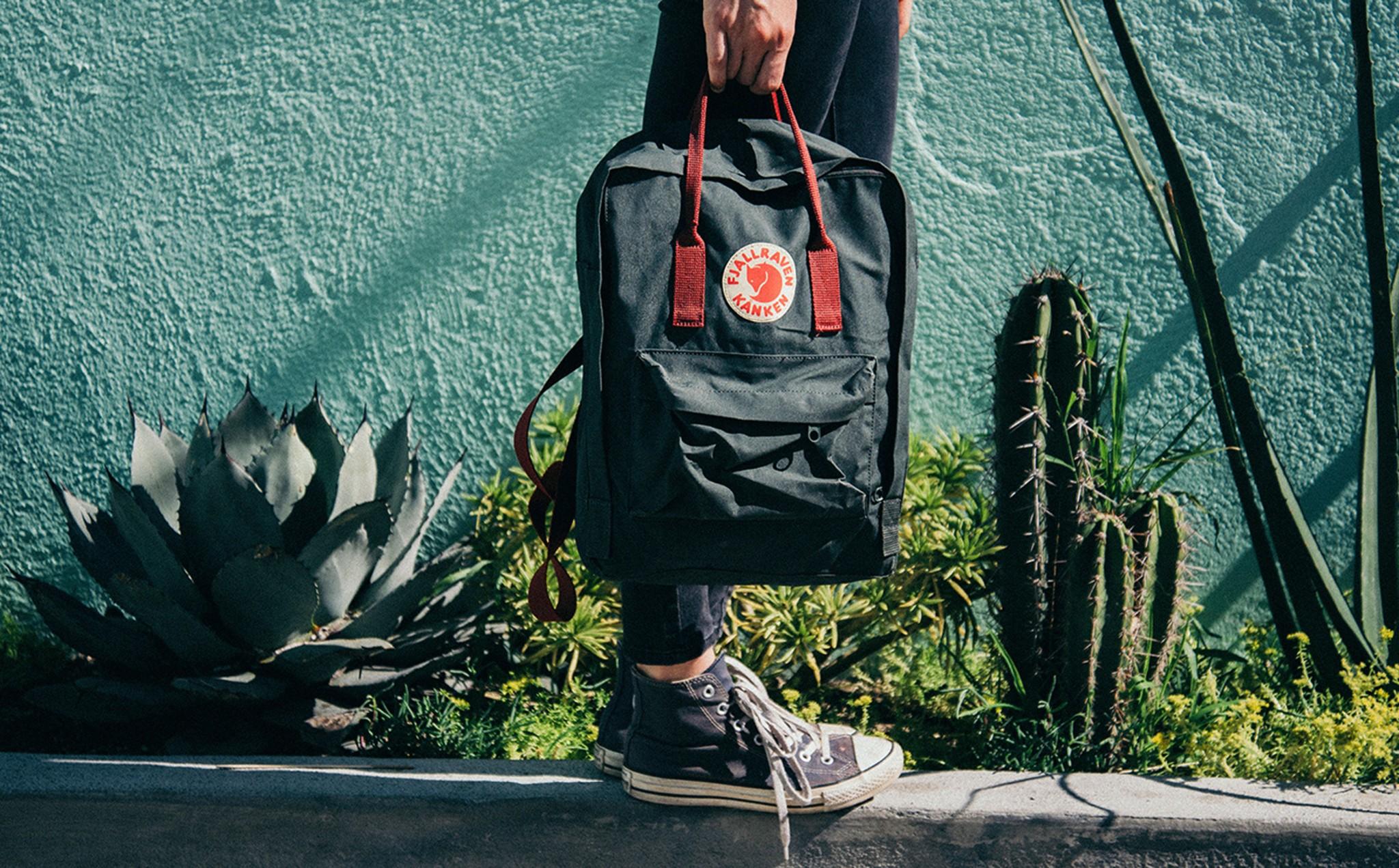 Fjällräven Kånken, a mochila que virou moda   Unibanco