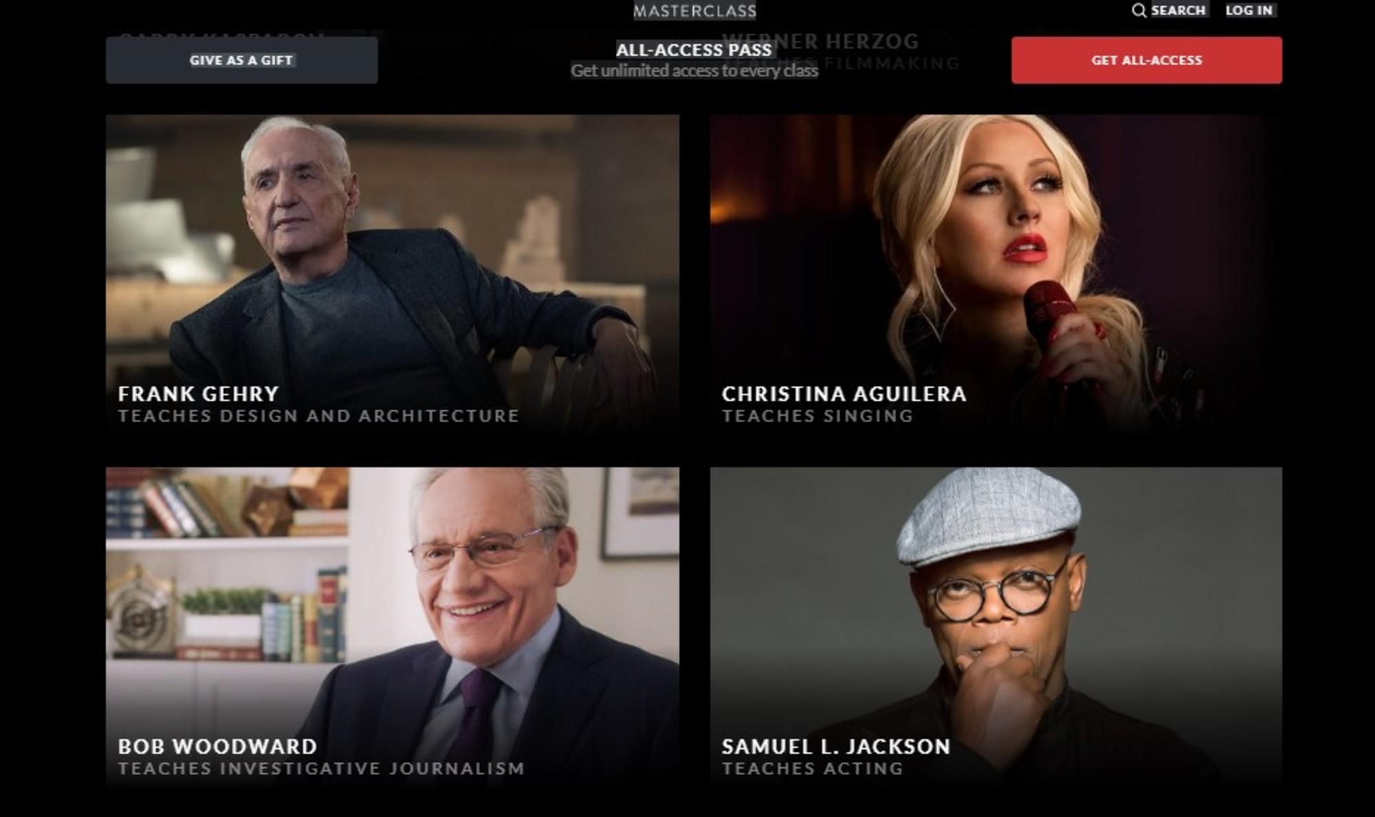 Masterclass, a app de aulas online com celebridades | Unibanco