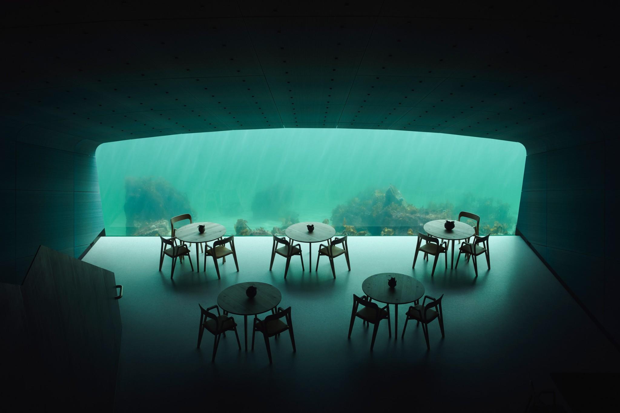 Under, o primeiro restaurante debaixo de água da Europa | Unibanco