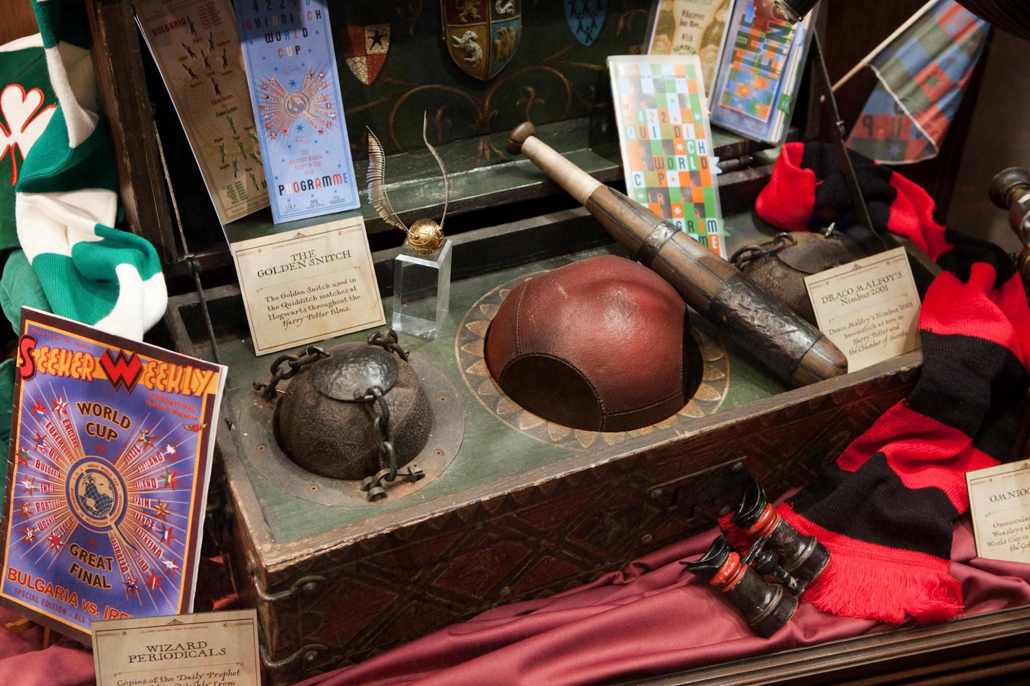 Expelliarmus: a exposição de Harry Potter está em Lisboa | Unibanco