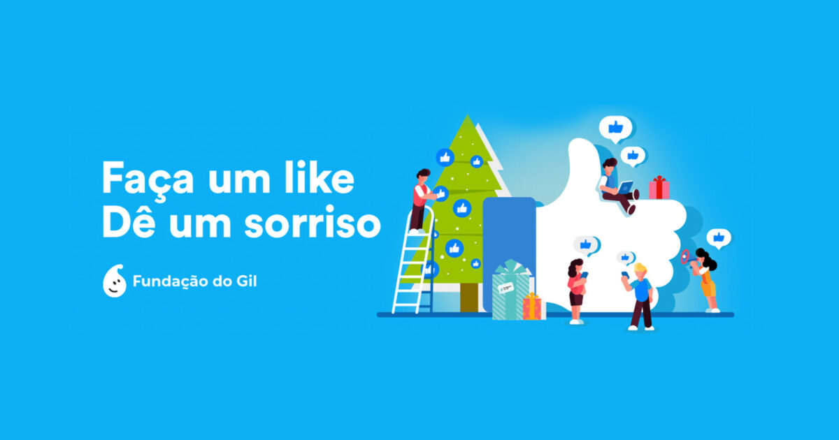Faça um like para doar um euro | Unibanco