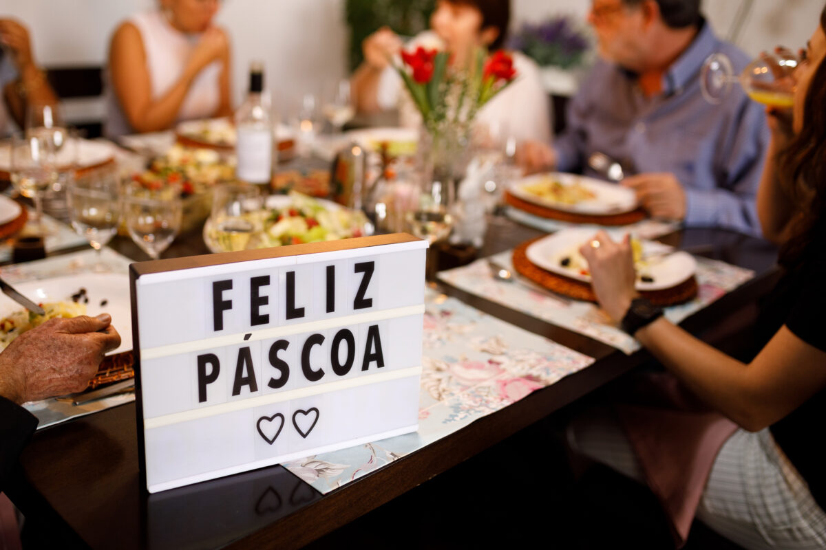 Páscoa 2020: em família, remotamente | Unibanco