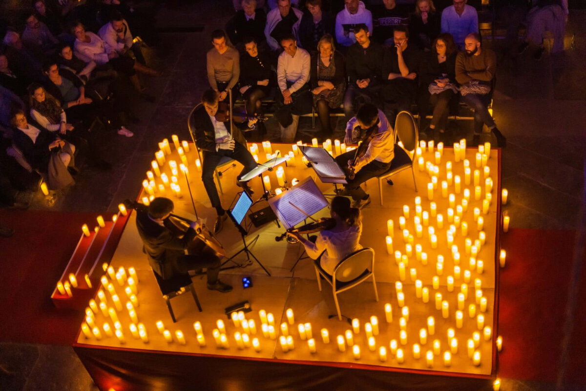 Candelight: um concerto de Natal mágico, à luz das velas | Unibanco