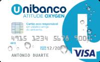 Cartão de crédito atitude oxygen Unibanco