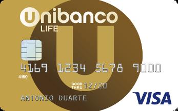 Cartão de crédito Life Unibanco
