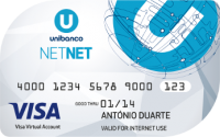Cartao Unibanco NET NET