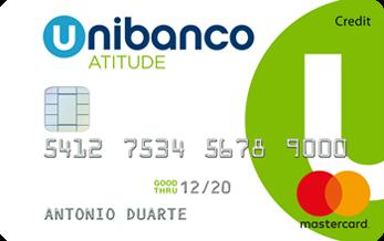 Cartão de crédito Atitude com vantagens como pagamento em 3x sem juros, programa de pontos e oferta de adesão