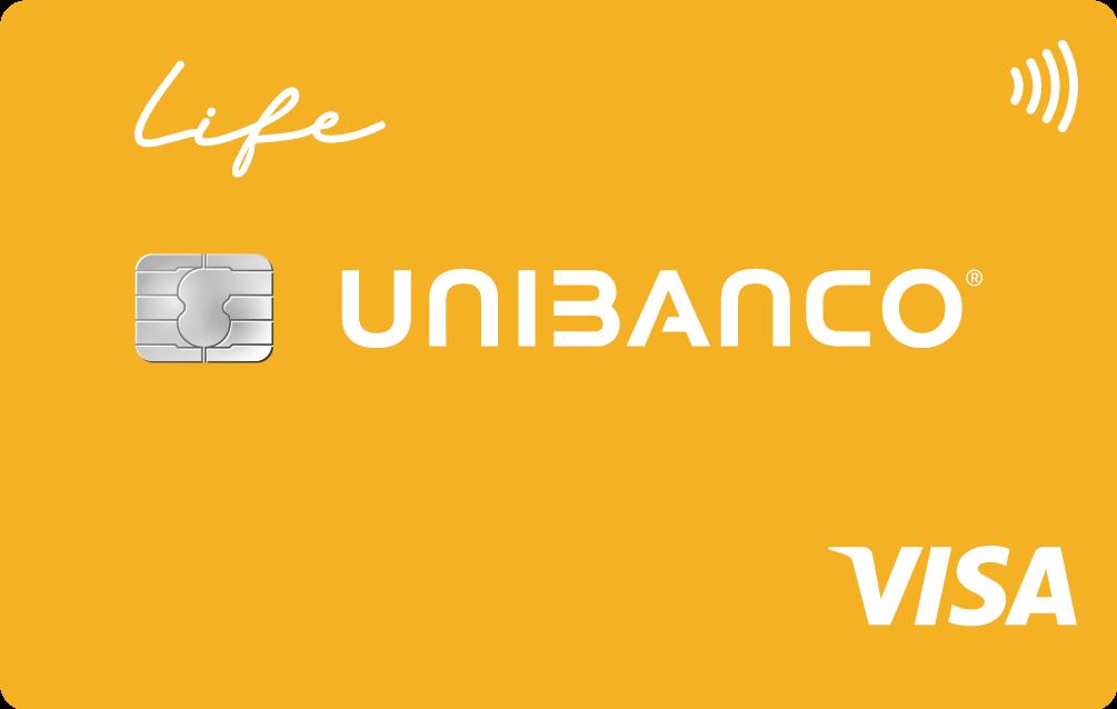 Cartao de credito unibanco Visa Life